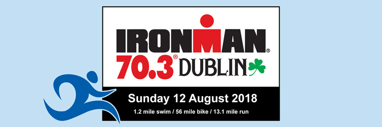 IRONMAN 70.3 Dublin, 12 August 2018