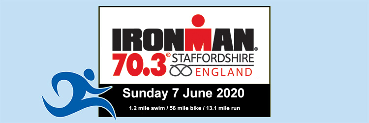 IRONMAN 70.3 Staffordshire, 7 June 2020