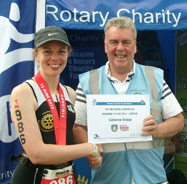 Ironman 70.3 UK June 2014 - Catherine Elvidge