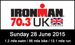 Ironman 70.3 UK Exmoor 2015
