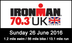 Ironman 70.3 UK Exmoor 2016
