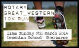 Rotary Great Western 10K Run 2014