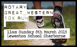 Rotary Great Western 10K Run 2015