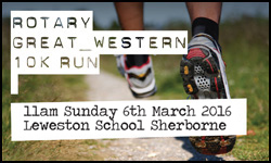 Rotary Great Western 10K Run 2016