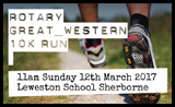 Rotary Great Western 10K Run 2017