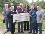 Cheque Presentation to Wildlife Trust in Bolton - Ironman UK 2010