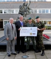 Cheque Presentation to the Royal Marines Charitable Trust