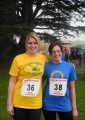 Nicky Willoughby & Sam Rumble – RGW 10K Run – Dorset & Somerset Air Ambulance – March 2012