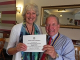 Rotary Club of Wellington, Somerset / Motor Neurone Disease Association