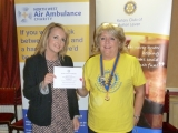 Rotary Club of Bolton Lever / North West Air Ambulance