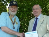 Rotary Club of Wiveliscombe & District / Somerset Unit for Radiotherapy Equipment [Beacon Centre]