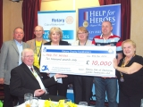 Joint Rotary Club Presentation / Help for Heroes