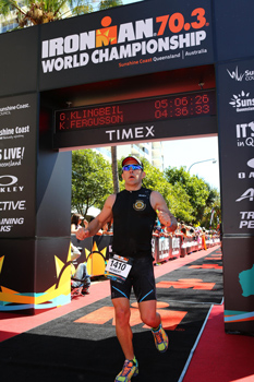 Robert Bacon - Ironman 70.3 World Championships 2016