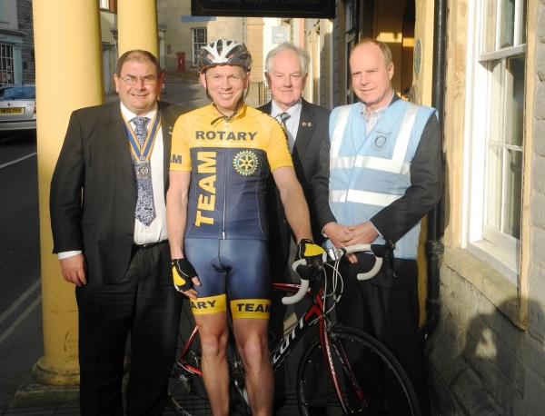 Tour of Wessex has a Rotarian Volunteer Hero from the Home Town Rotary Club