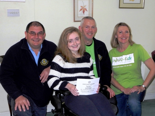 Whizz-kidz Benefit From Rotarians Tour of Wessex Fundraising