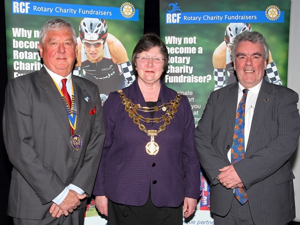 National President of Rotary Congratulates Rotary Charity Fundraisers
