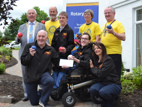 Paralympic Club Benefit From Ironman Fundraising