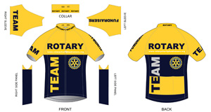 Team Rotary Cycling Jersey