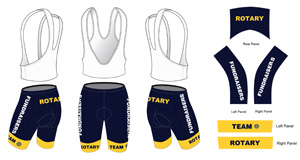 Team Rotary Cycling Shorts